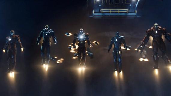 iron man 3 suits