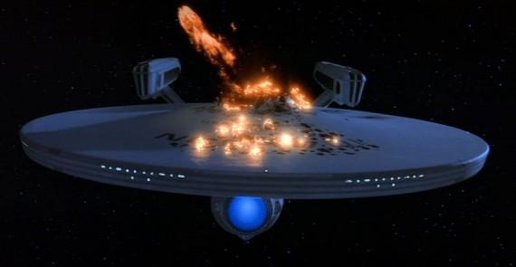 star trek iv enterprise destruction