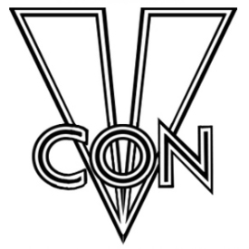 Figure 1 - VCON 40 Logo (update by Hing Kei)