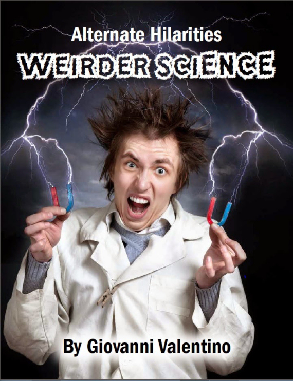 Figure 4 - Weirder Science cover by Aimee Maroney