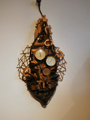 Figure 7 - Steampunk Mask by Carolyn Bruce