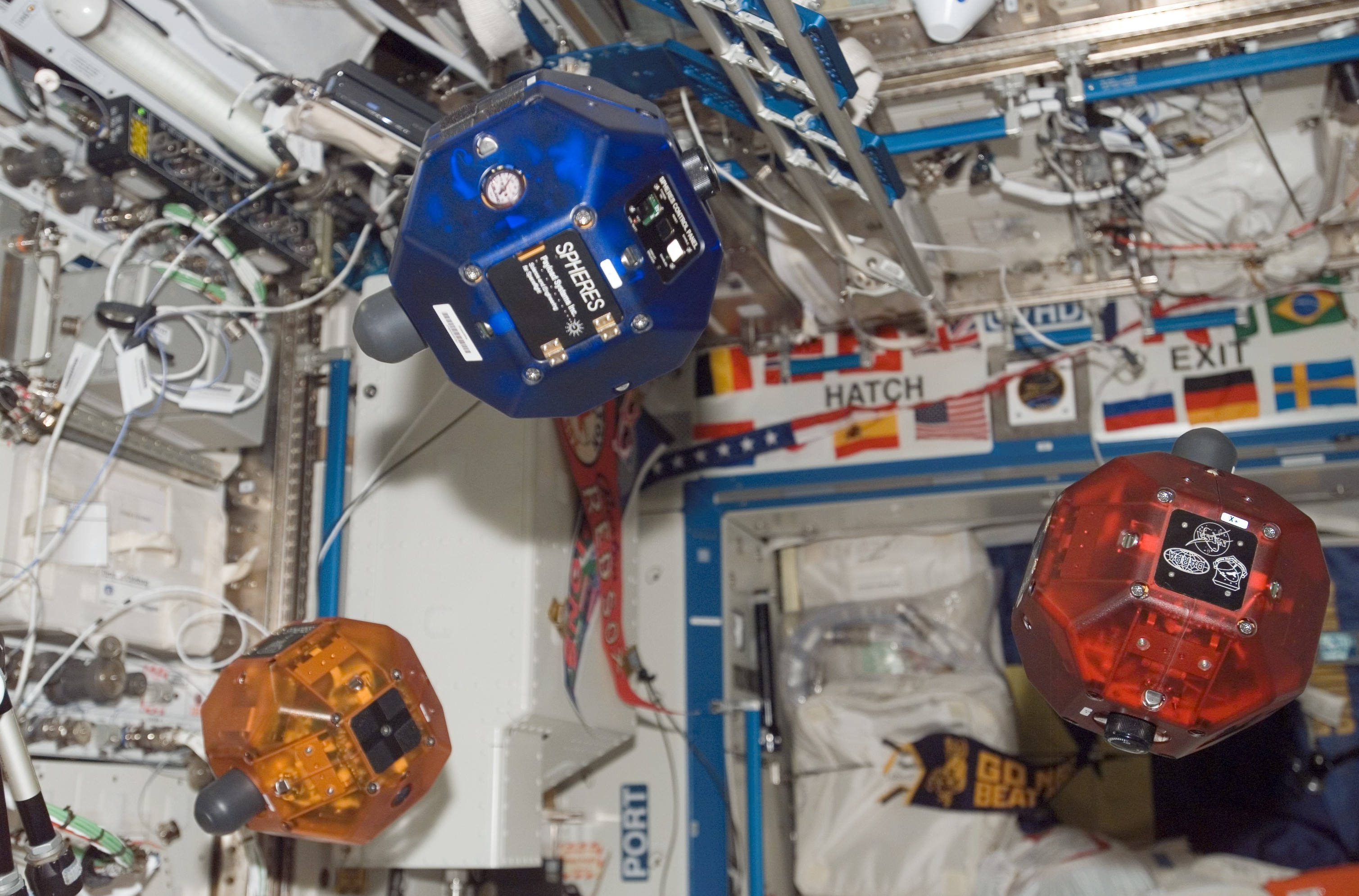 MIT SPHERES on ISS