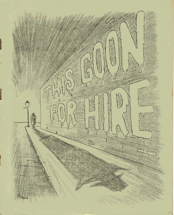 RG Cameron Clubhouse Sep 25 - 2015 Illo #3 'Goon For Hire'
