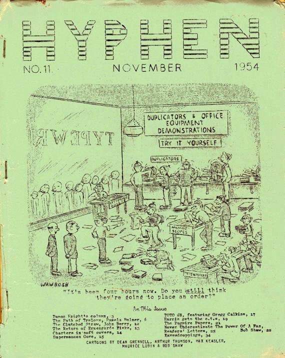 RG Cameron Clubhouse Sep 4 - 2015 Illo #1 'HYPHEN COVER'