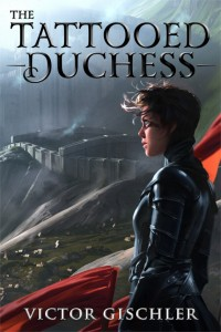 The Tattooed Duchess cover art by Megan Haggerty