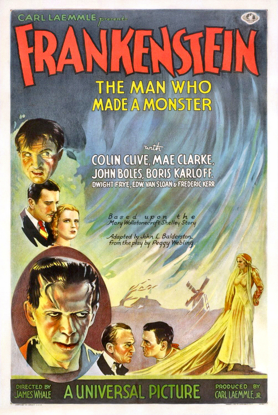 Figure 2 - Frankenstein Poster (one-sheet) 1931
