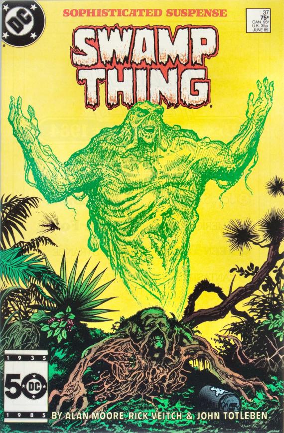 Figure 2 - Swamp Thing 37