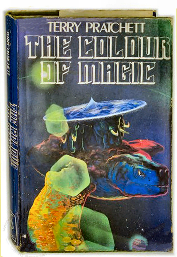 Figure 2 - The Colour of Magic by Terry Pratchett (First Edition)