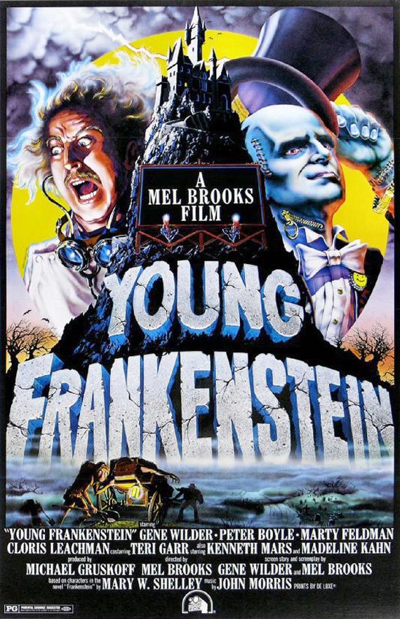 Figure 3 – Young Frankenstein Poster 1974