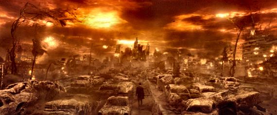 Figure 5 - Constantine in Hell ©2005 Warner Brothers