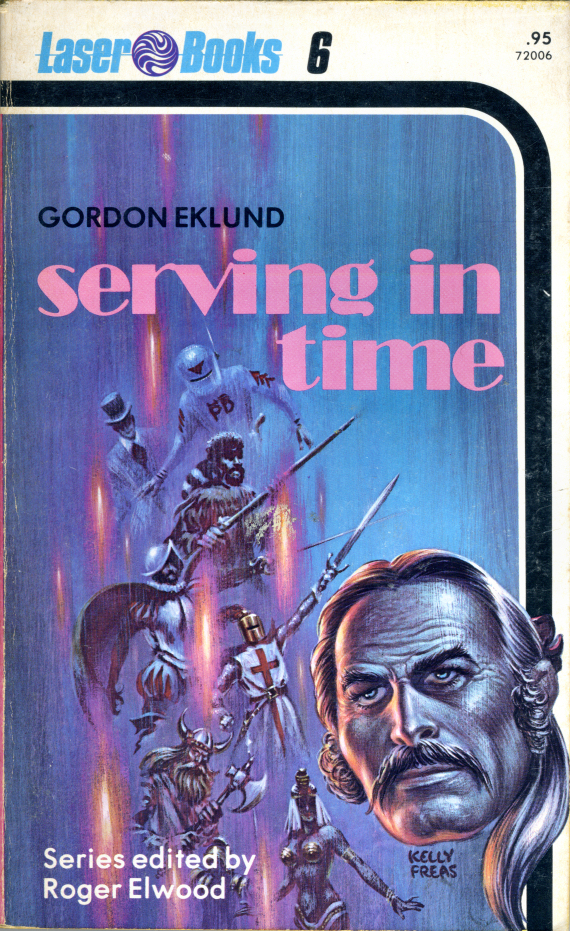 Figure 5 - Unretouched scan of Gordon Eklund's Serving in Time