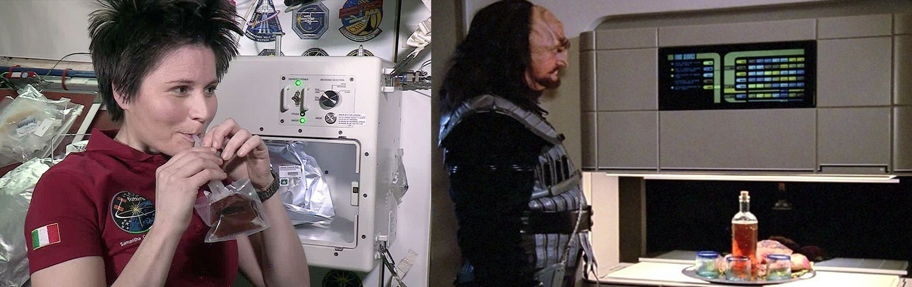 ISS vs ST Food replicator