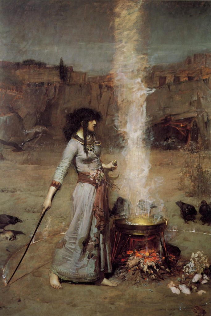 John_William_Waterhouse_-_Magic_Circle
