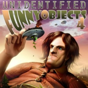 Scide Splitters: Unidentified Funny Objects 4 edited by Alex Shvartsman