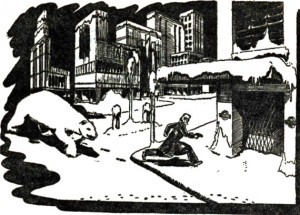 The Forgotten Enemy art by Bob Clothier