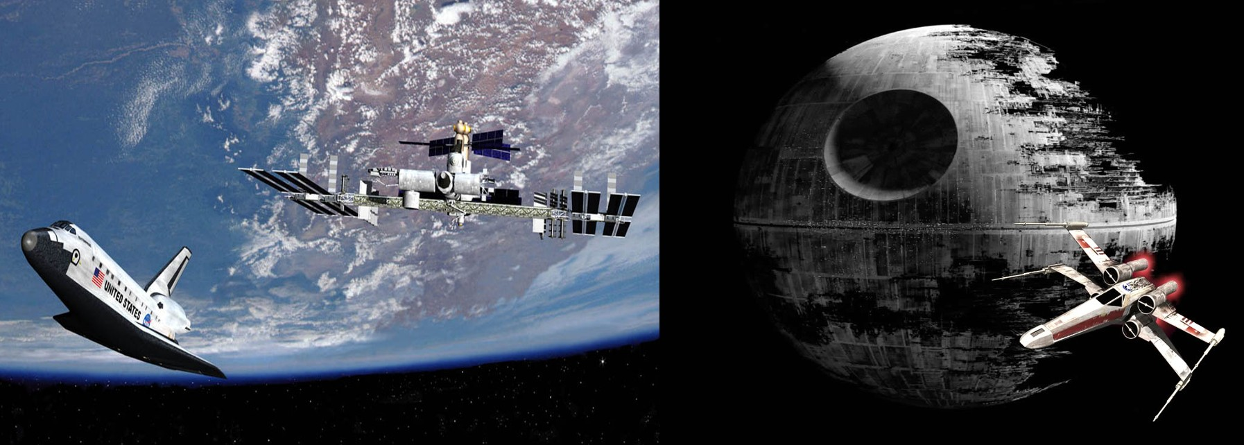 Deathstar vs ISS