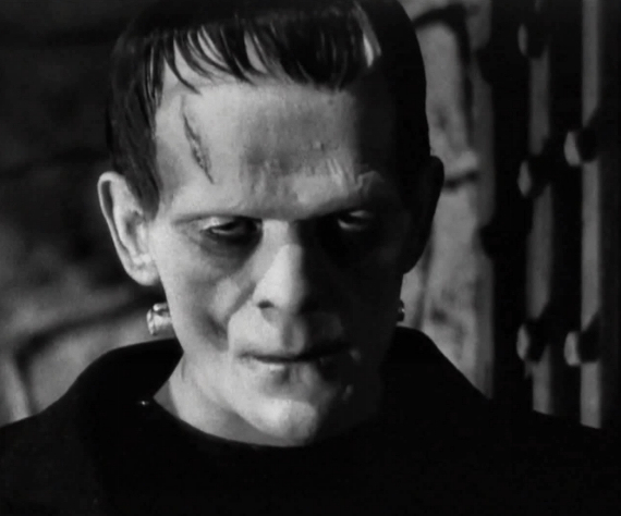 Figure 2 - Boris Karloff in Frankenstein (1931)