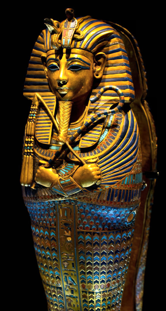 Figure 3 - King Tutankhamun's Canopic Coffin (sarcophagus)
