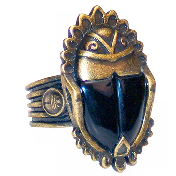 Figure 6 - Imhotep's Scarab Ring (prop reproduction)