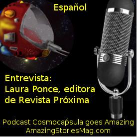 Entrevista a Laura ponce, editora de la revista de ciencia ficción Próxima