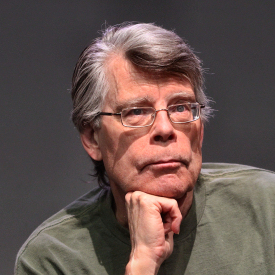 Figure 1 - Stephen King (Courtesy HuffPost)