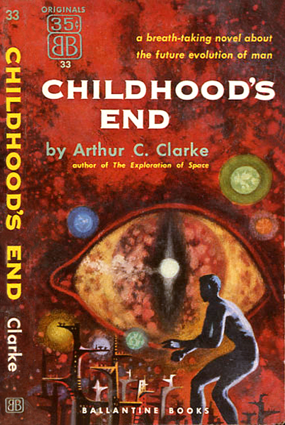 Figure 2 - Childhood's End Cover by Richard Powers