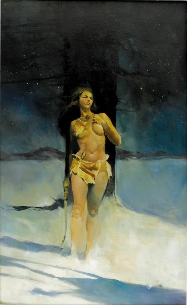 Jeffrey Jones, Snow Queen, a.k.a., Winter and Snow Woman (c. 1971)