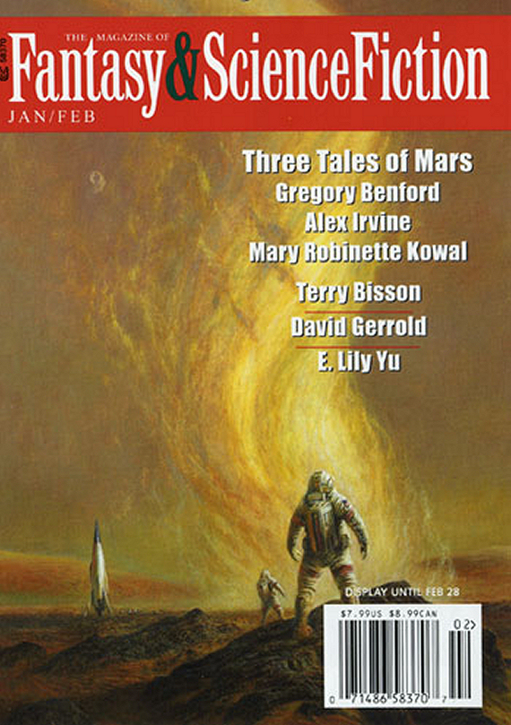 Figure 2 - F&SF Jan/Feb 2016 cover