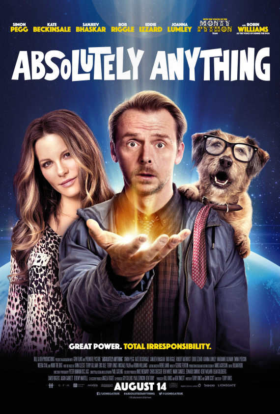 Figure 3 - Absolutely Anything poster