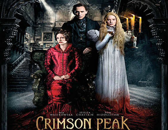 Figure 5 - Crimson Peak poster