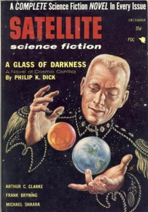 Satellite Science Fiction Dec 1956 cover