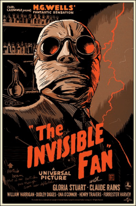 invisible fan