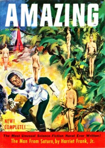 Amazing Stories June-July 1953 cover