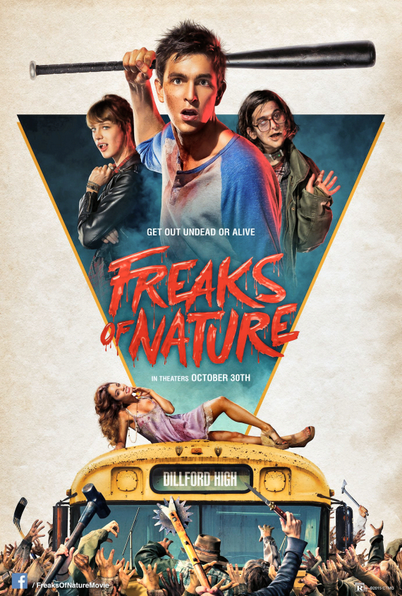 Figure 2 - Freaks of Nature poster