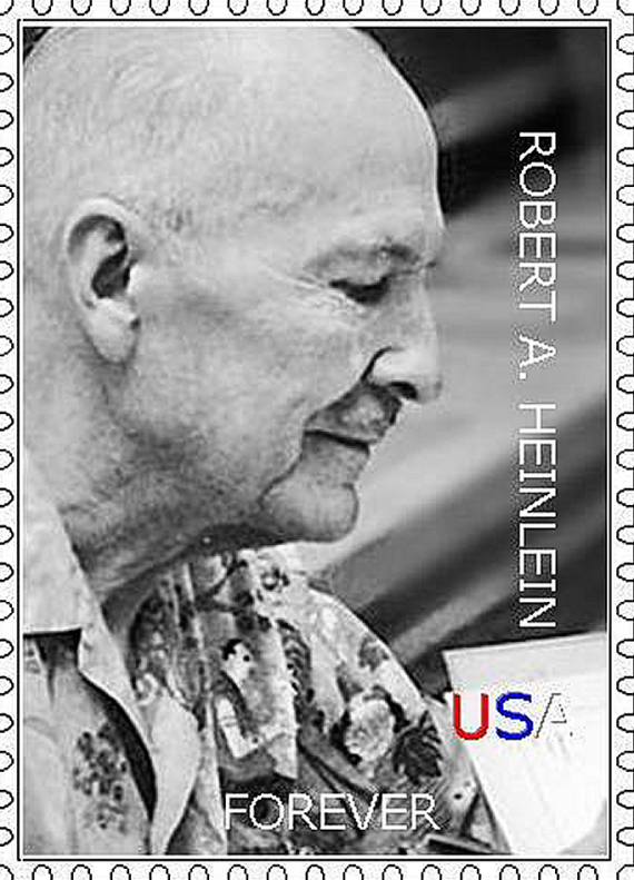 Figure 4 - Proposed Heinlein Forever Stamp