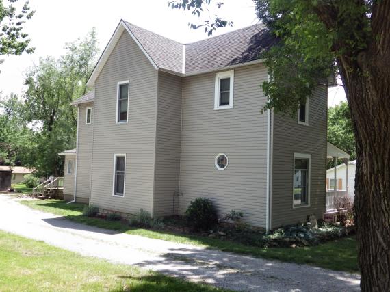 Figure 5 - Back of Heinlein House