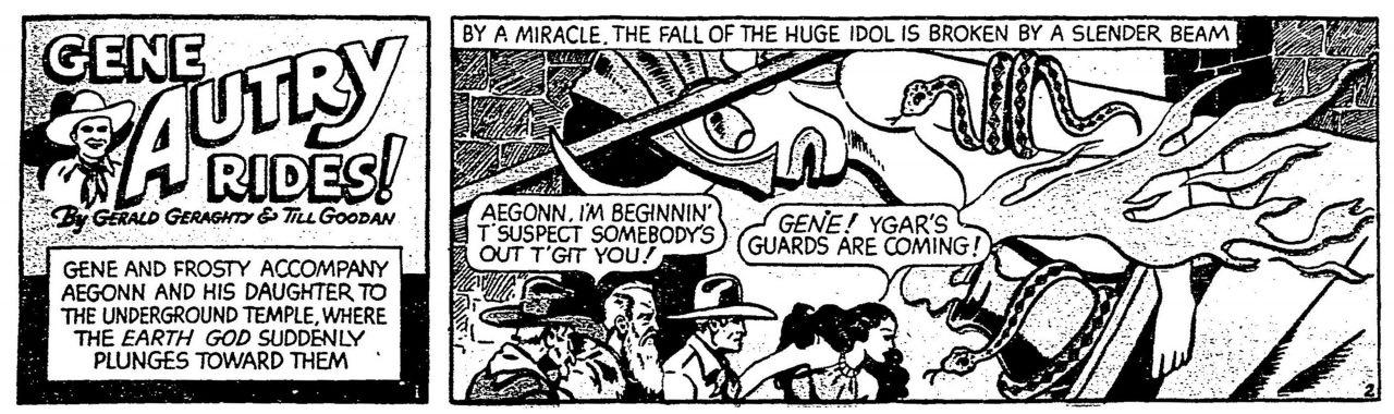 Gene Autry Rides 19400929 (Boston Globe)