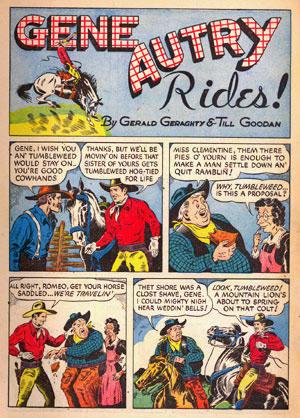 Gene Autry Rides (Fawcett 02)