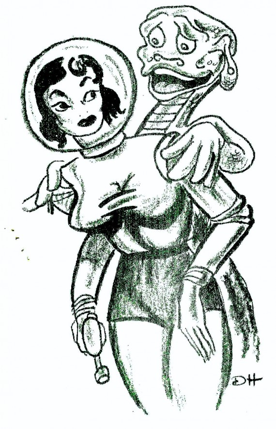 RG Cameron Clubhouse Feb 26 2016 Illo #2 'SPACE GAL'