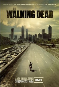 The Walking Dead AMC poster October 31, 2010