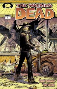 The Walking Dead issue #1 cover October 8, 2003