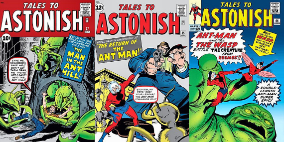 Figure 2 - Ant-Man in Tales to Astonish