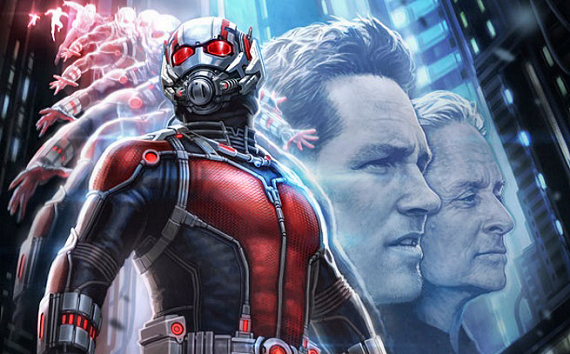 Figure 3 - Ant-Man movie style—Paul Rudd & Michael Douglas