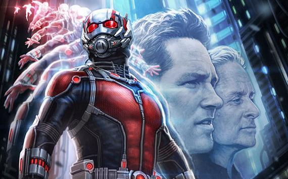 Figure 3 - Ant-Man movie style—Paul Rudd & Michael Douglas