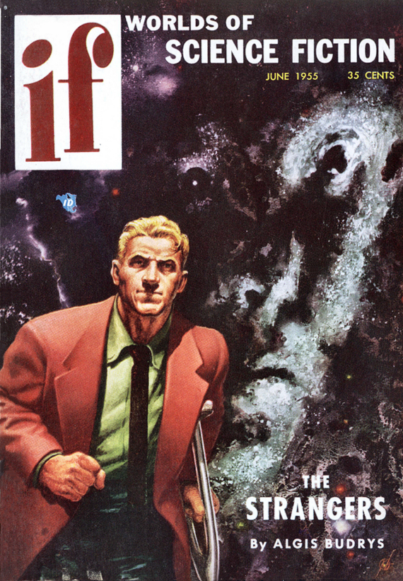Figure 3 - First Kelly Freas IF cover 1954