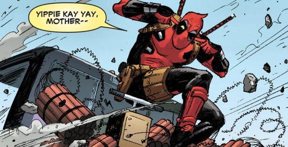 Figure 4 – Comic book Deadpool