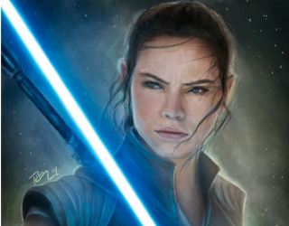 Asni's Art Blog: Star Wars Popularity Contest: Rey