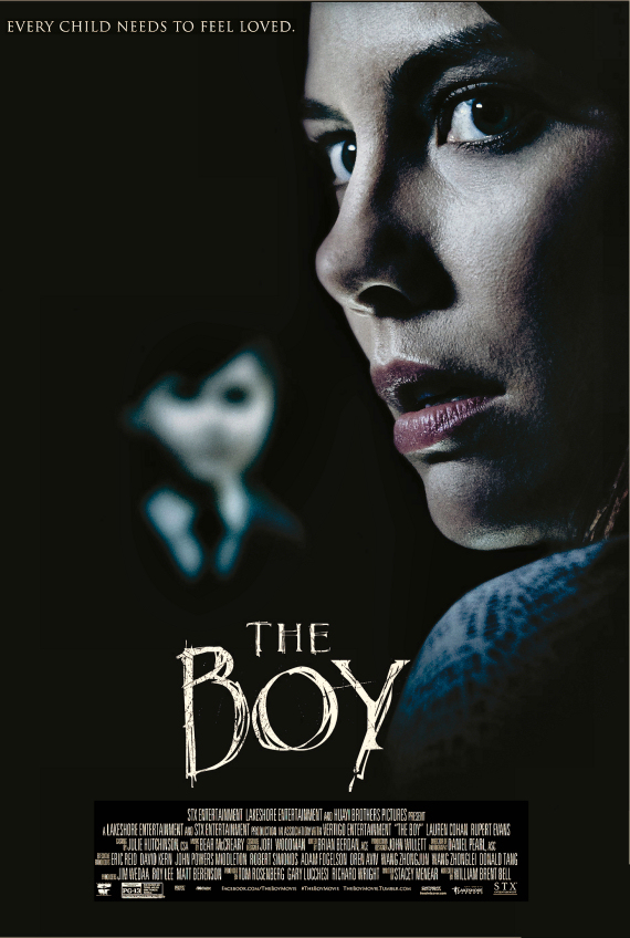 Figure 2 - The Boy Poster