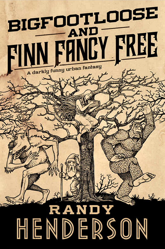 Figure 4 - Bigfootloose and Finn Fancy Free cover