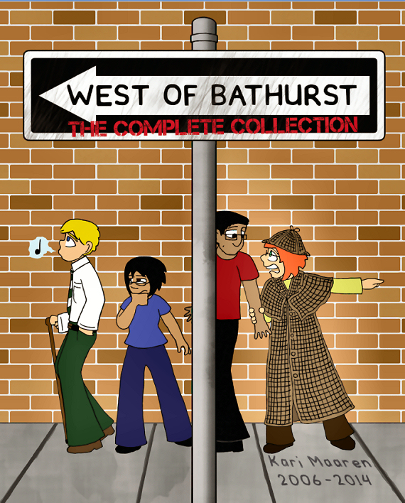 igure 8 - West of Bathurst (cover) by Kari Maaren